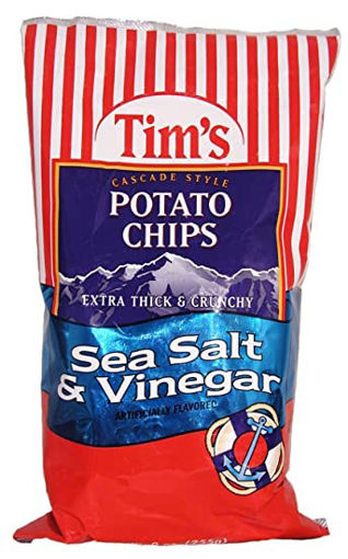 Picture of Tims Potato Chips Cascade Style Sea Salt & Vinegar