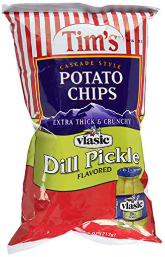 Picture of Tims Potato Chips Dill Pickle