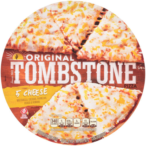 Picture of Tombstone Original Five Cheese 12inches Box