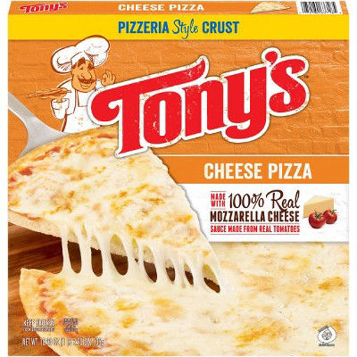 Picture of Tonys Pizzeria Pizza Cheese Frozen