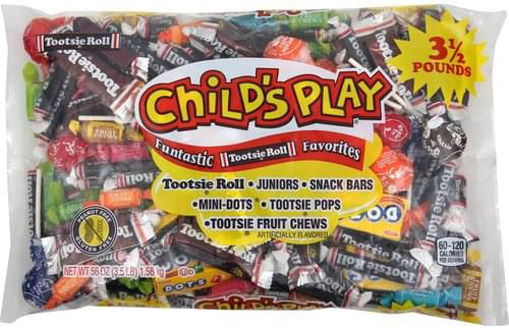 Picture of Tootsie Roll Childs Play Candy Funtastic Favorites