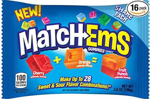 Picture of Topps Matchems Gummies