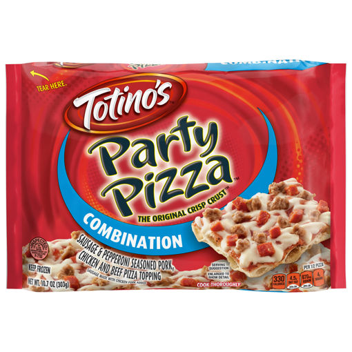 Picture of Totinos Party Pizza Combination Frozen