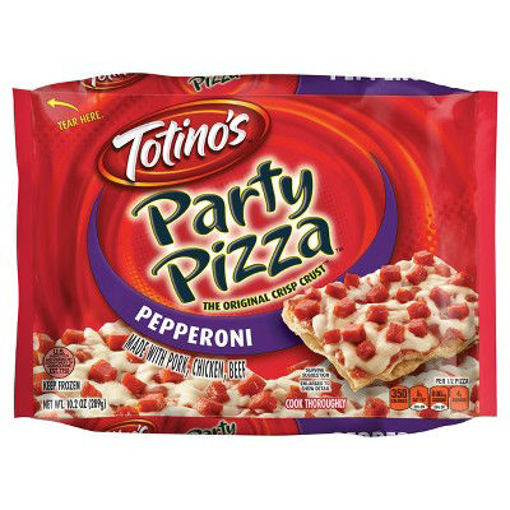 Picture of Totinos Party Pizza Pepperoni Frozen