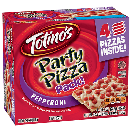 Picture of Totinos Party Pizza Pepperoni Triple Frozen