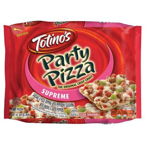 Picture of Totinos Party Pizza Supreme Frozen