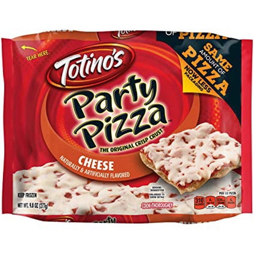 Picture of Totinos Party Pizza Three Cheese Frozen