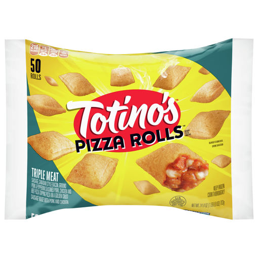 Picture of Totinos Pizza Rolls Triple Meat