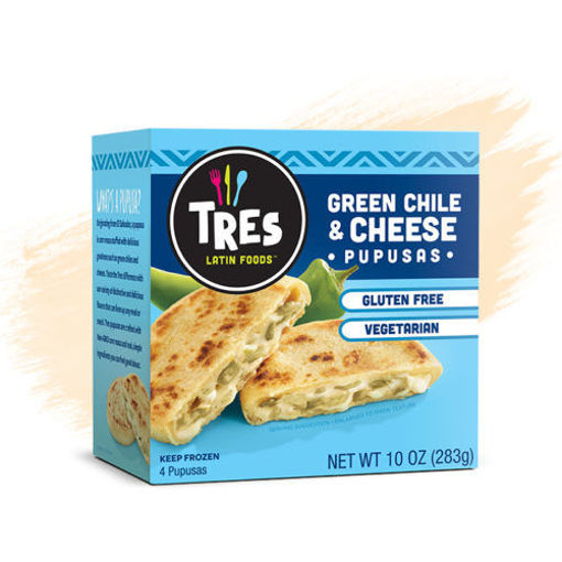 Picture of Tres Pupusas Chicken & Cheese