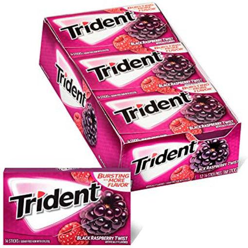 Picture of Trident Gum Twist Black Raspberry Sugar Free