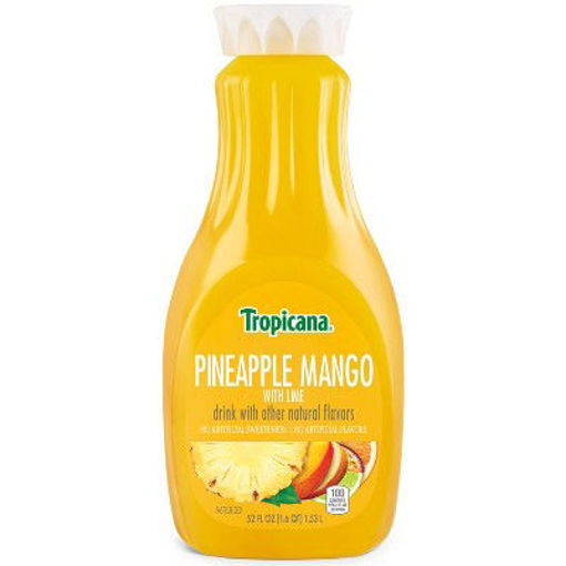 Picture of Tropicana Premium Juice Drink Pineapple Mango with Lime Chilled