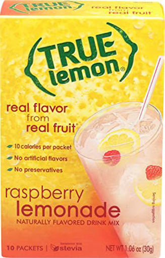 Picture of True Lemon Drink Mix Lemonade Raspberry