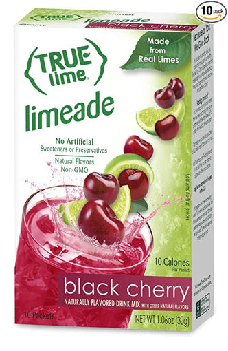 Picture of True Lime Drink Mix Black Cherry 10 Count
