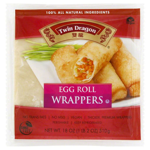Picture of Twin Dragon All Natural Wrappers Egg Roll