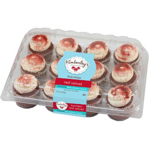 Picture of Two-Bite Red Velvet Premium Cupcake