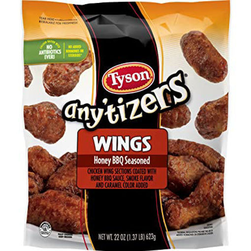 Picture of Tyson Anytizers Buffalo Style Bone-In Chicken Wings