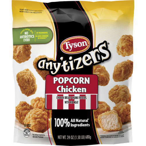 Picture of Tyson Anytizers Popcorn Chicken