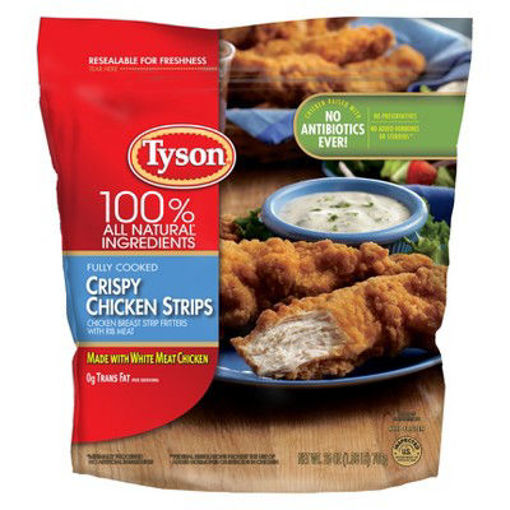 Picture of Tyson Fully Cooked Crispy Chicken Strips