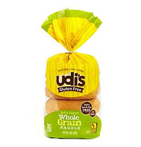 Picture of Udis Gluten Free Bagels Plain