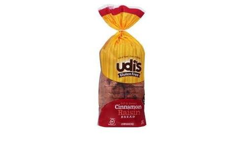 Picture of Udis Gluten Free Bread Cinnamon Raisin