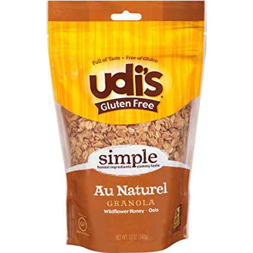 Picture of Udis Gluten Free Granola Simple Au Naturel