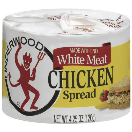 Picture of Underwood Spread White Meat Chicken