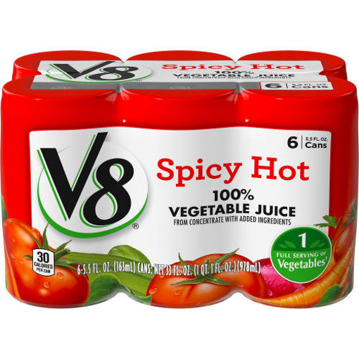 Picture of V8 Vegetable Juice Spicy Hot
