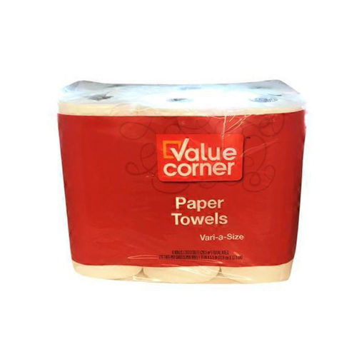 Picture of Value Corner Paper Towels Sheets Vari A Size 2-Ply