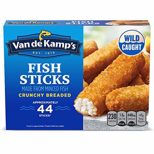 Picture of Van de Kamps Fish Sticks Crunchy 44 Count