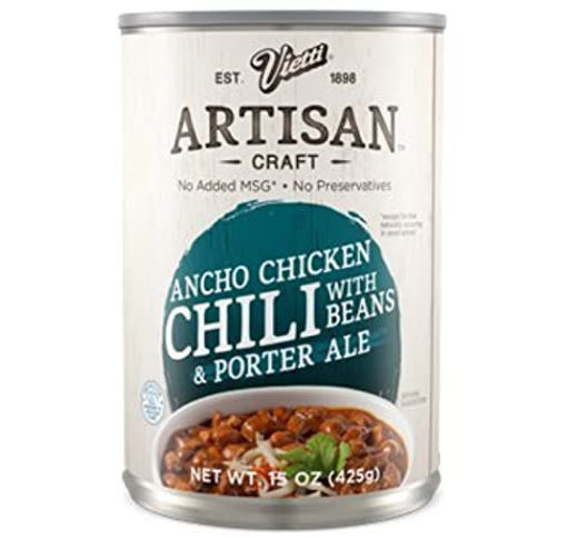 Picture of Vietti Artisan Craft Chili With Beans & Porter Ale Ancho Chicken