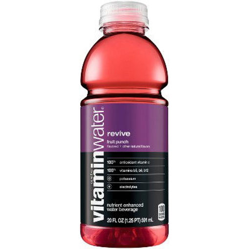 Picture of vitaminwater Water Beverage Nutrient Enhanced Revive Fruit Punch