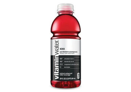 Picture of vitaminwater Water Beverage Nutrient Enhanced XXX Acai Blueberry Pomegranate