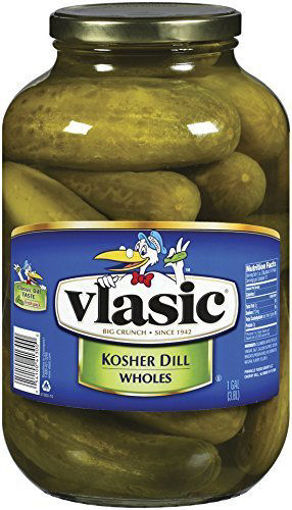 Picture of Vlasic Pickles Wholes Kosher Dill