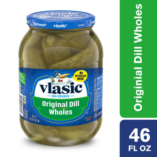 Picture of Vlasic Pickles Wholes Original Dill