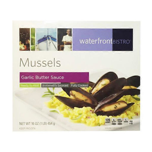 Picture of waterfront BISTRO Mussels In Natural Juices
