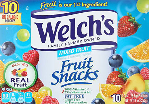 Picture of Welchs Fruit Snacks Mixed Fruit