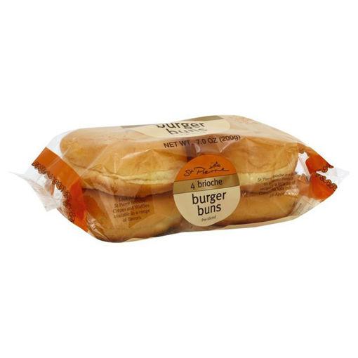 Picture of Wheat Brioche Hamburger Buns 4ct