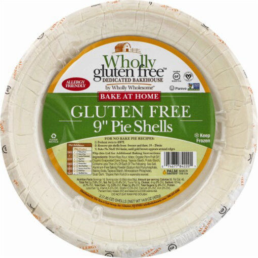 Picture of Wholly Wholesome Pie Shells Wholly Gluten Free 9 Inch 2 Count