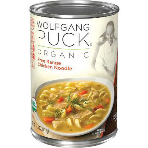 Picture of Wolfgang Puck Soup Organic Chicken & Dumplings