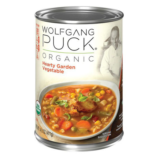 Picture of Wolfgang Puck Soup Organic Hearty Garden Vegetable