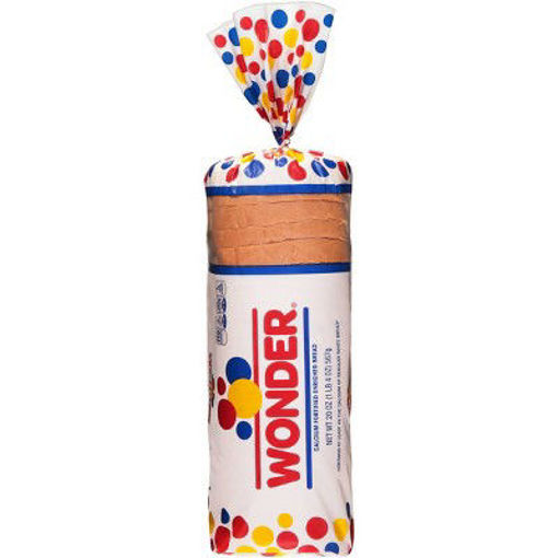 Picture of Wonder Bread Classic White Round Top