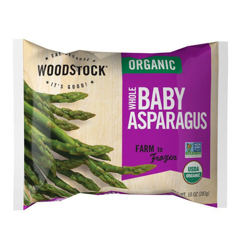 Picture of Woodstock Organic Baby Asparagus Whole