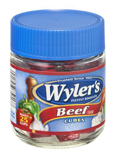 Picture of Wylers Bouillon Instant Beef Flavor Cubes