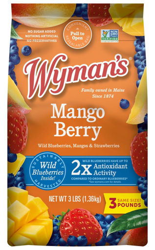 Picture of Wymans Mango Berry With Wild Blues