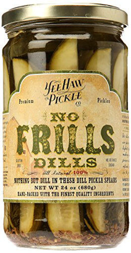 Picture of Yee-Haw Pickle Co. Pickles Dills No Frills
