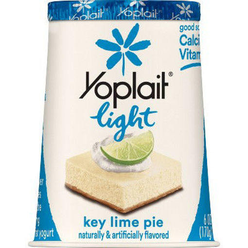 Picture of Yoplait Light Yogurt Fat Free Key Lime Pie