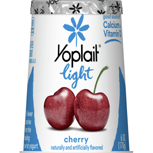 Picture of Yoplait Light Yogurt Fat Free Very Cherry