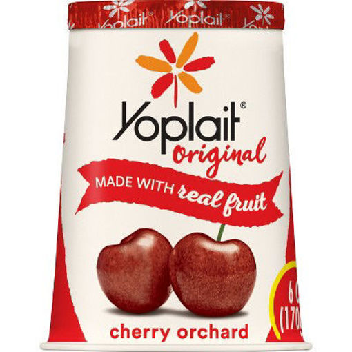 Picture of Yoplait Original Yogurt Low Fat Cherry Orchard