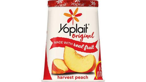 Picture of Yoplait Original Yogurt Low Fat Harvest Peach