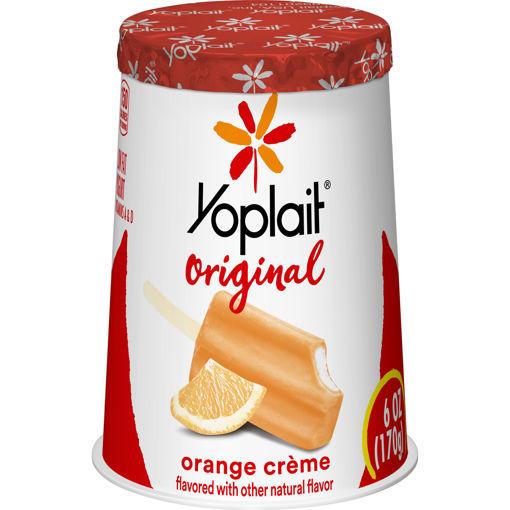 Picture of Yoplait Original Yogurt Low Fat Orange Creme